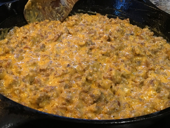 Sausage Stroganoff On The Stove