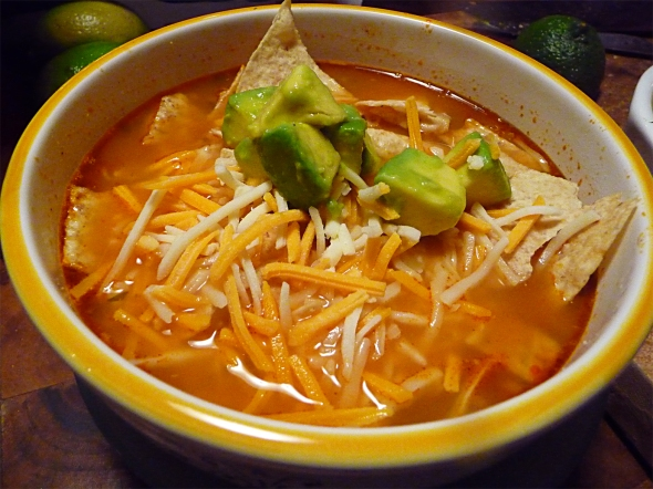 my tortilla soup recipe