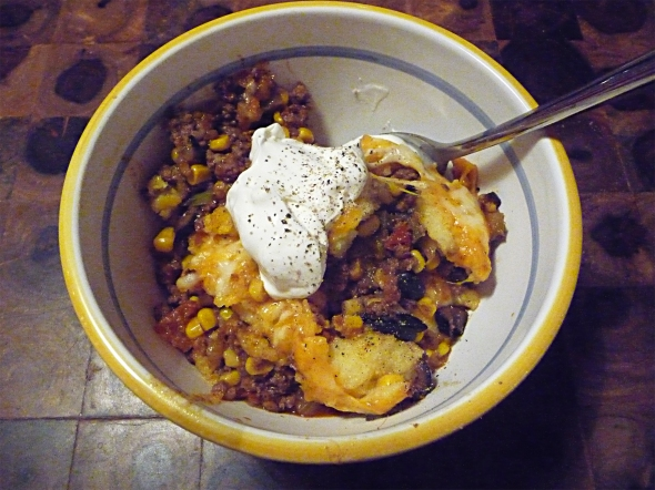 the beef tamale pie finale