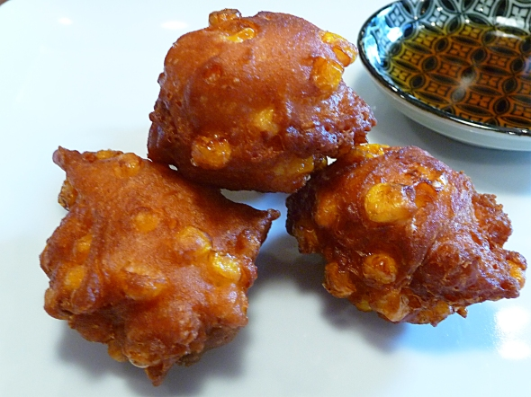 delicious corn fritters