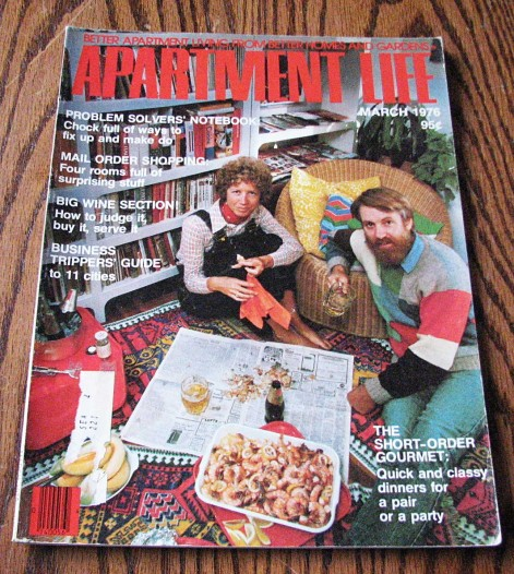 the march 1976 issue of apartment life magazine