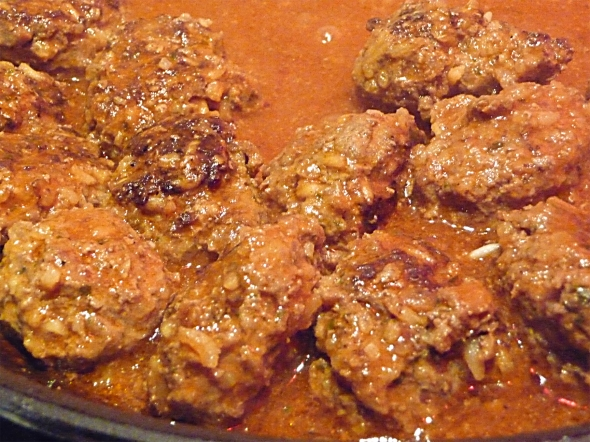 mom's porcupine meatballs