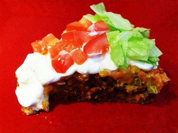 Mmmm... Taco Pie!