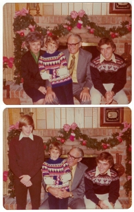 Kiker Family Christmas 1976