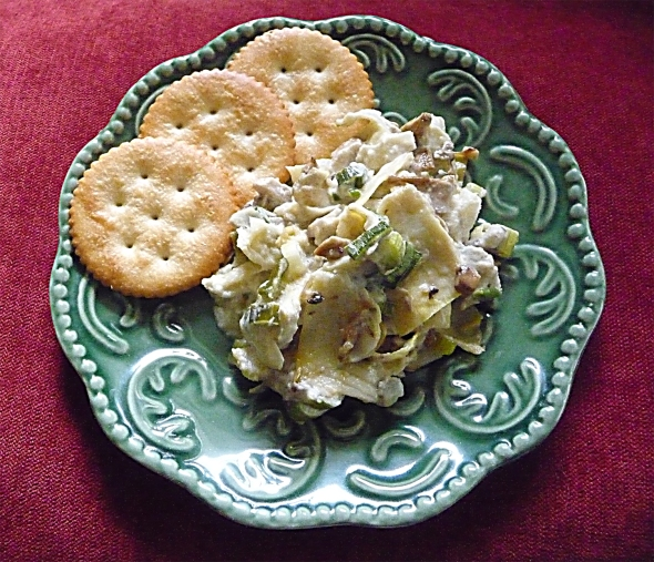 a great-tastin' texas artichoke dip