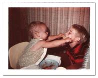 Baby Sharing Corn