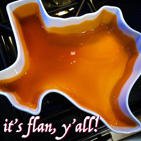 Texas Brandied Flan