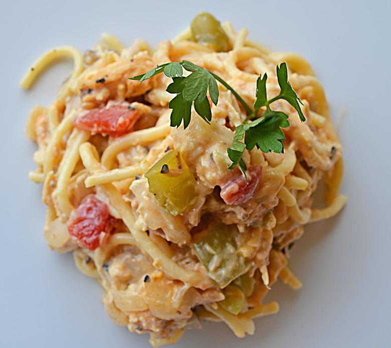 Chicken Spaghetti Recipe From Betty's Cook Nook