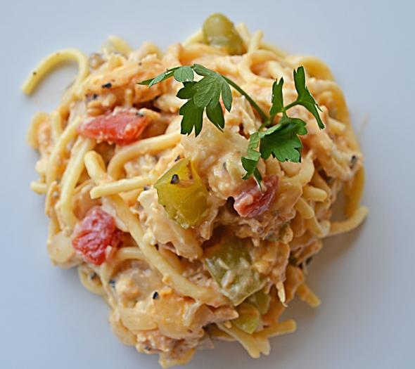 A Chicken Spaghetti Recipe From Betty's Cook Nook