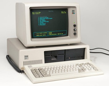 Mom's Computer: The IBM PC XT Circa 1982.
