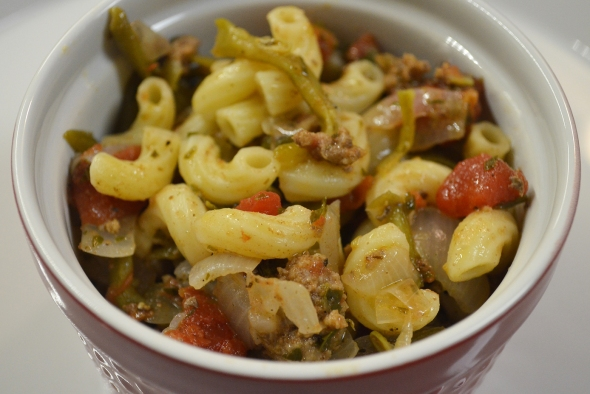 A One Dish Macaroni Dinner Recipe From Betty's Cook Nook