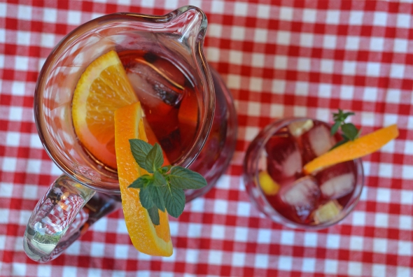 A tasty sangria recipe from Betty's Cook Nook