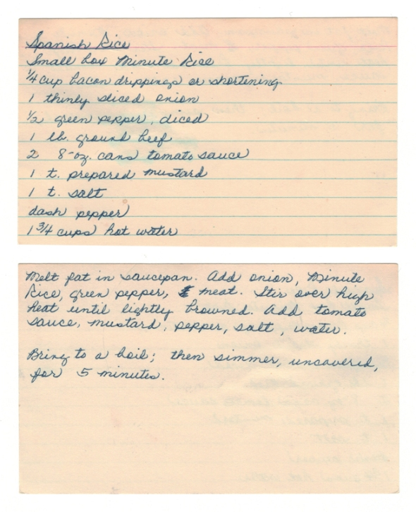 A Spanish Rice Recipe From Betty's Cook Nook