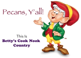 Ernie the Keebler Elf likes Pecan Rolls From Bettys Cook Nook