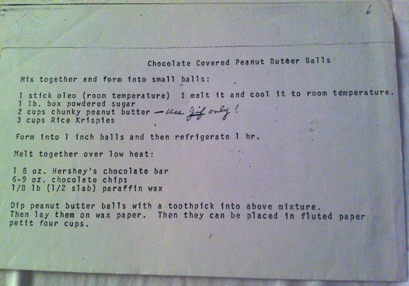 A Chocolate Covered Peanut Butter Ball Recipe From Betty's Cook Nook
