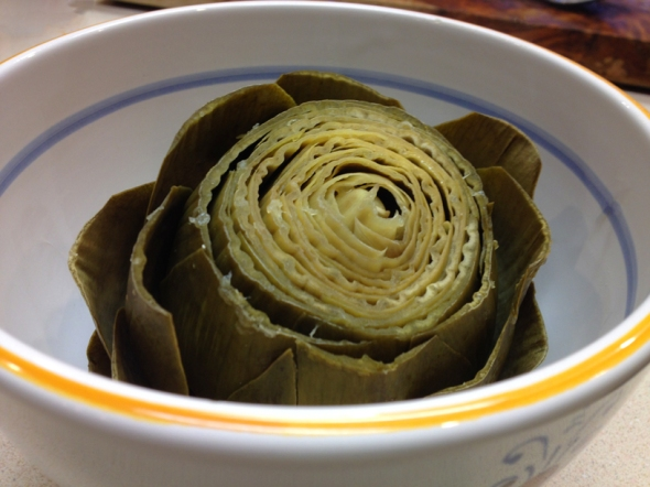 A Steamed Artichoke Recipe From Betty's Cook Nook