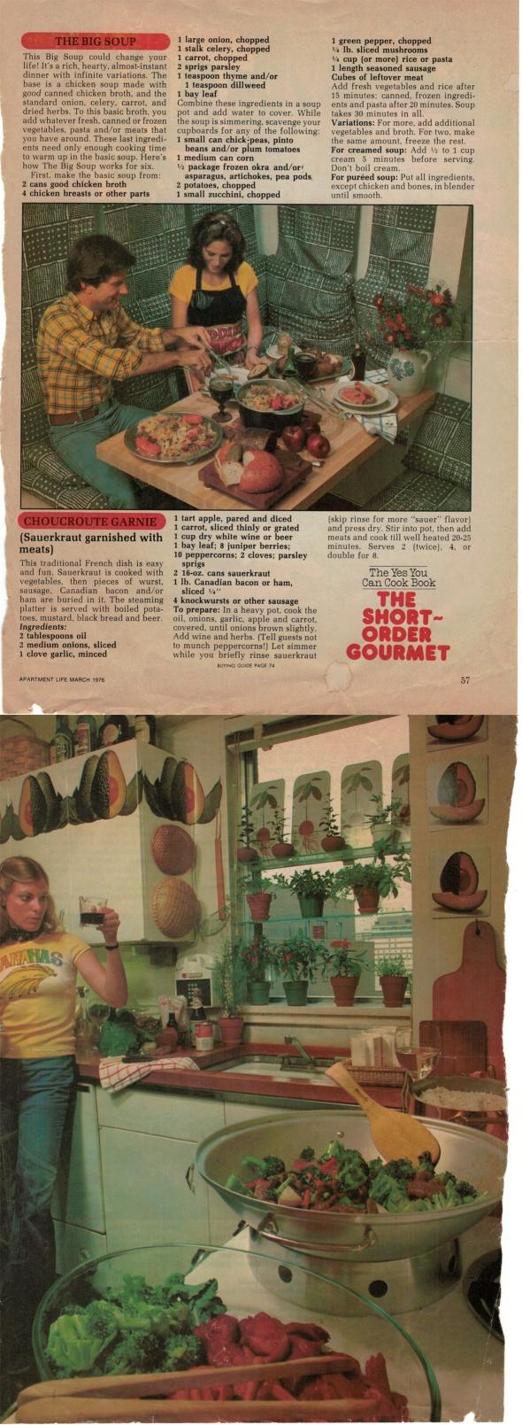 An Original Scan Mom's Big Soup Recipe