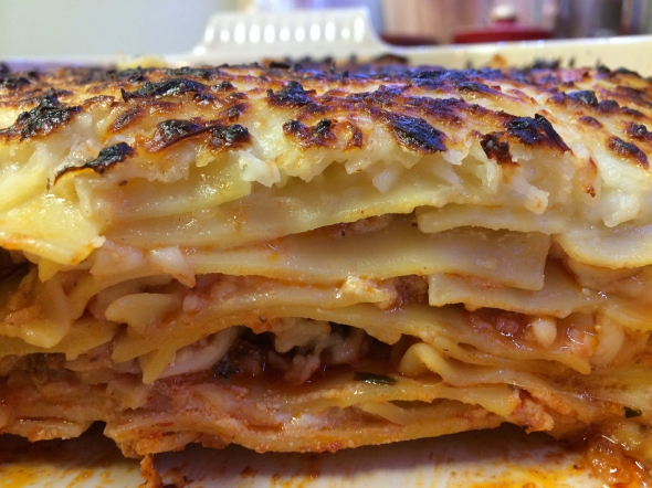 A Lasagne Recipe From Bettys Cook Nook - Layers Of Noodles