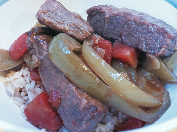 A Savory Pepper Steak Recipe From Betty's Cook Nook