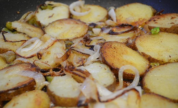 Patio Potatoes From Betty's Cook Nook