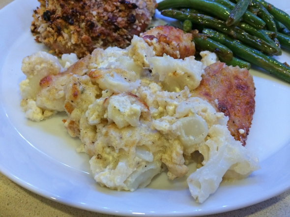 A Baked Swiss Cauliflower Recipe From Bettys Cook Nook