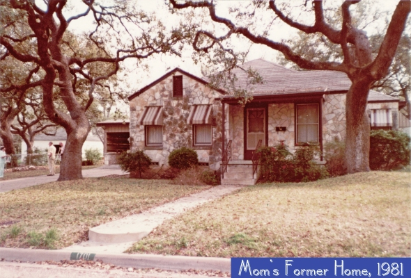 Betty's Austin House Circa 1981