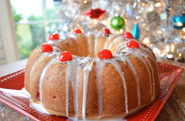 A Holiday Cake Recipe From Betty's Cook Nook