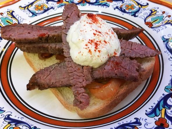 A Stroganoff Steak Sandwich Recipe From Bettys Cook Nook