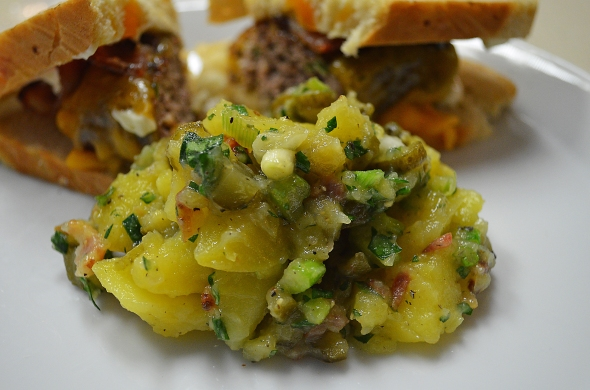 Sauerkraut Bend's Potato Salad Makes A Perfect Side Dish For Most Grilled Dishes