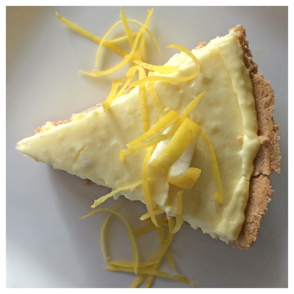 Lemon Cheese Cake From Betty's Cook Nook