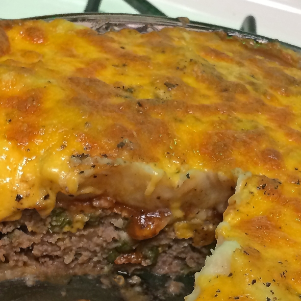 meat loaf and potatoes recipe