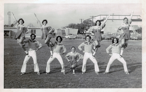 MarArthur Cheerleaders & Yell Leaders, 1975