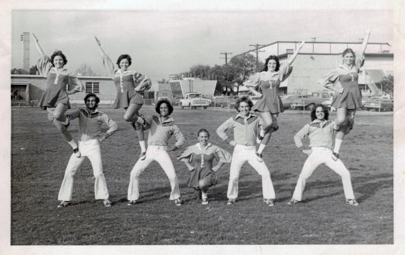 MarArthur Cheerleaders & Yell Leaders, 1975