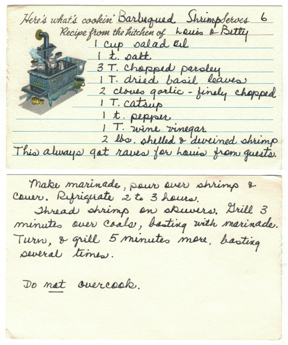 Mom and Dad's Original Barbequed Shrimp Recipe