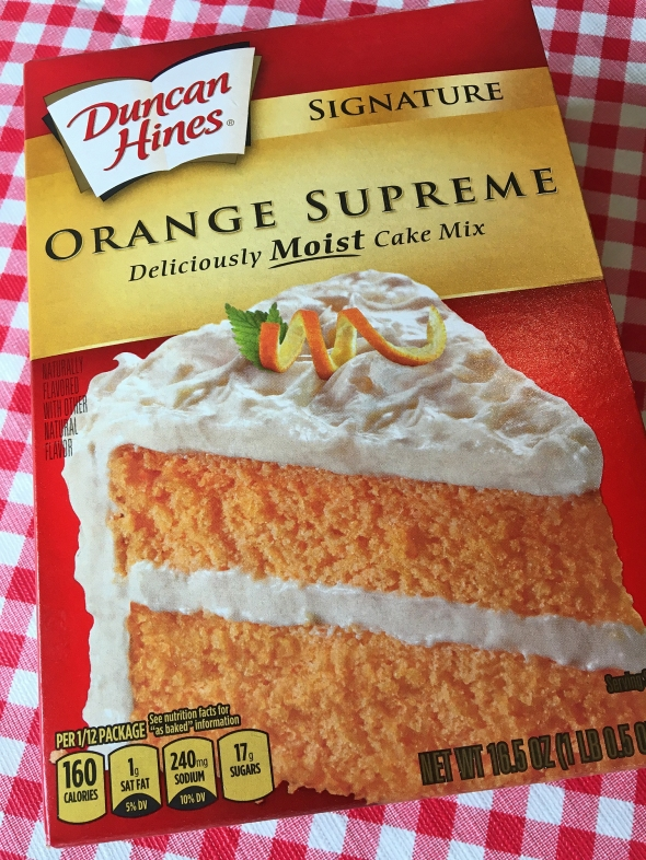 Duncan Hines Orange Supreme Cake Mix