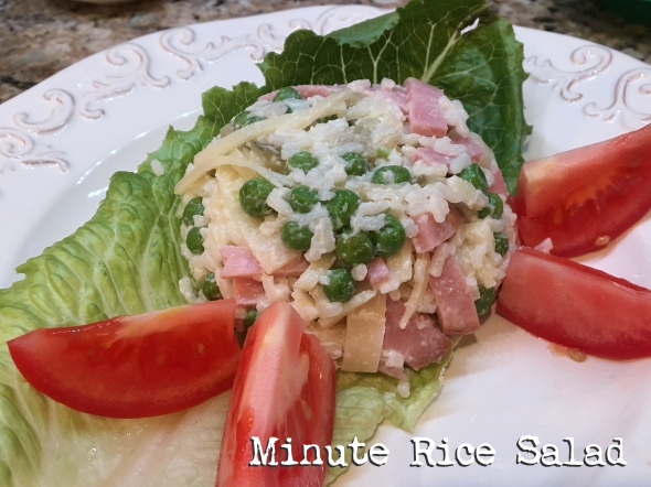 Minute Rice Salad Recipe From Betty's Cook Nook