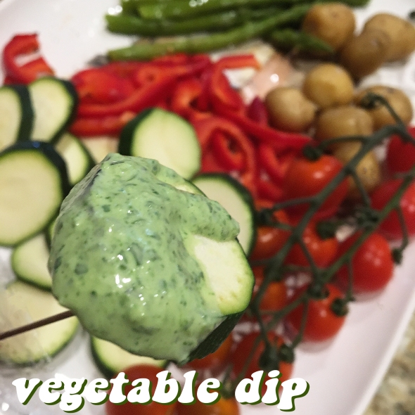 A Vegetable Dip Recipe From Betty's Cook Nook