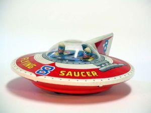 Vintage Flying Saucer