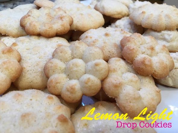 Lemon Light Drop Cookie Recipe from Betty's Cook Nook