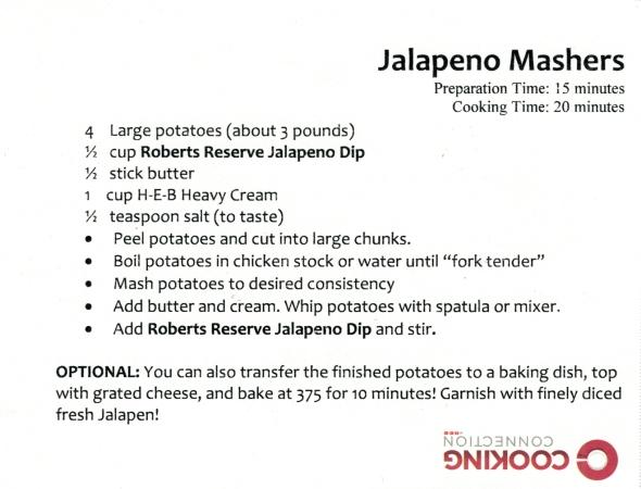 Jalapeño Mashers Recipe