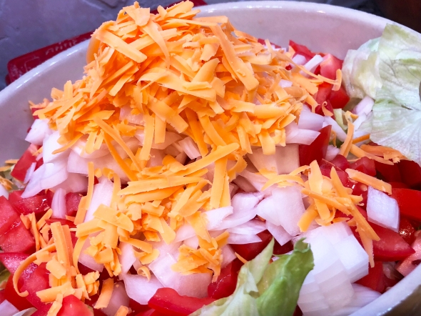 Mexican Chef's Salad Recipe Ingredients