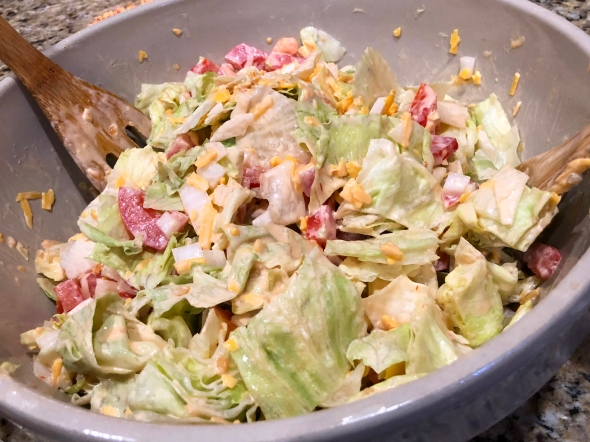 Mexican Chef's Salad Recipe