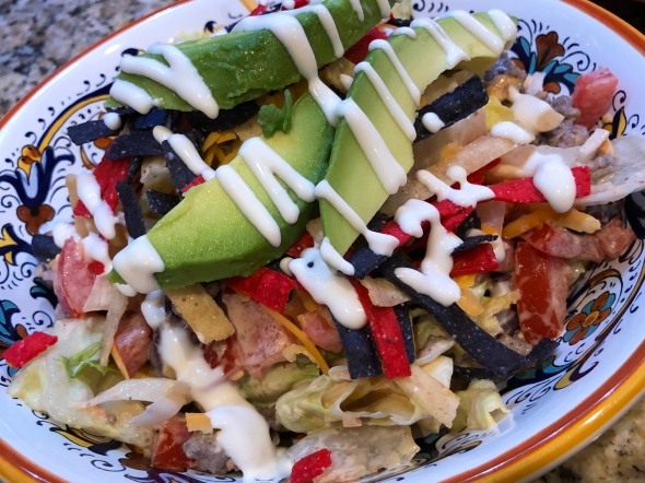 Mexican Chefs Salad Recipe From Betty's Cook Nook