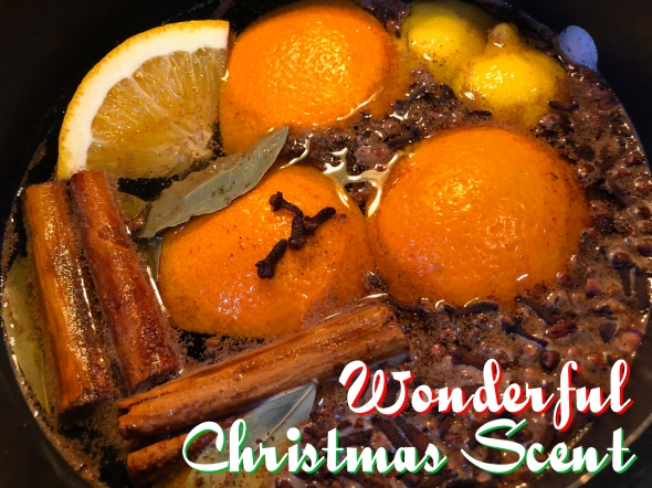 A Wonderful Christmas Scent Recipe From Betty's Cook Nook