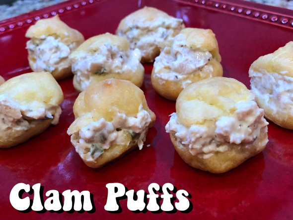 Clam Puffs Recipe From Betty's Cook Nook