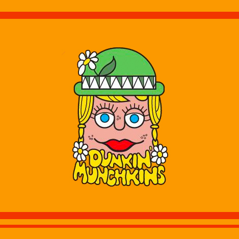 Dunkin Munchkins Vintage Logo