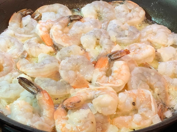 Shrimp Victoria On The Stove
