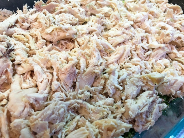 Shredded Chicken For Chicken Divan