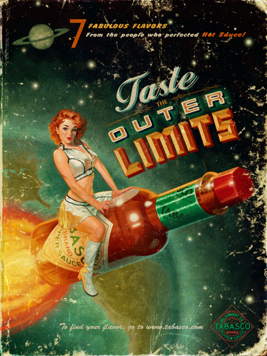 Vintage Tabasco Outer Limits Ad