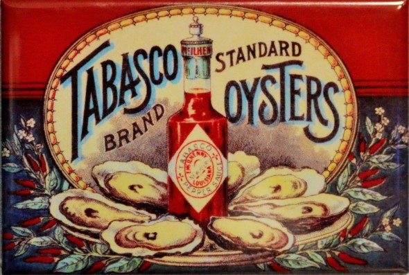 Vintage Tabasco Oysters Ad